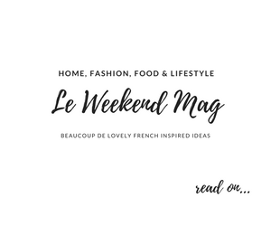 le Weekend French home style magazine