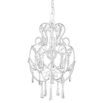5 chic chandeliers under 50 love french style modern cream white shabby chic chandelier pendant light fitting aloadofball Choice Image