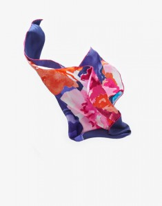Floral French scarf, Joules