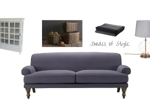 Chic Charcoal Living Rooms