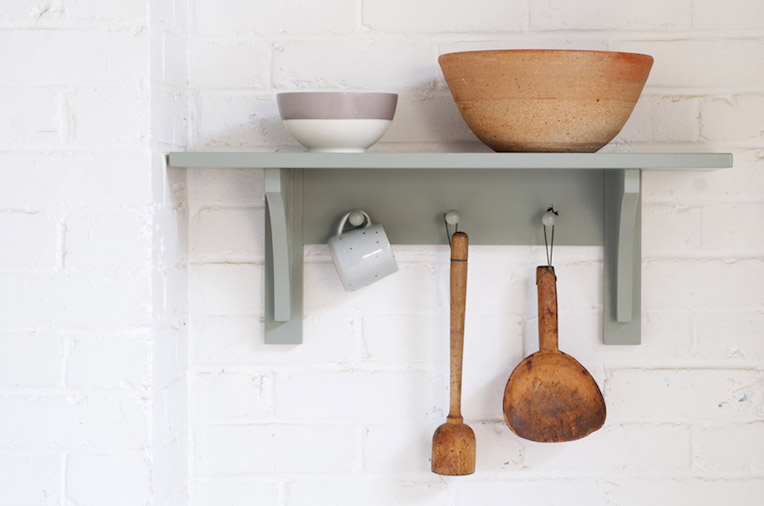Devol Peg Rail Shelves