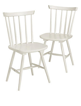Chic French Painted Dining room chairs