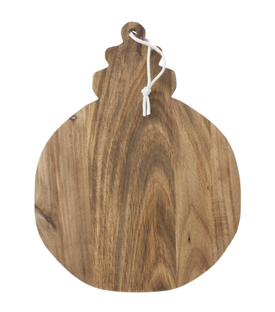 Hema rustic wood chopping board