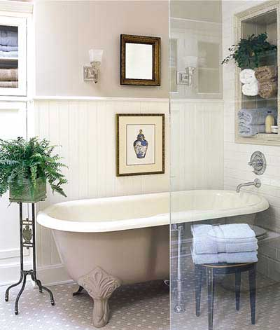 W Vintage Style Bathroom Design