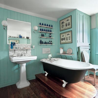 Guest post vintage style bathroom design ideas by diana for Retro bathroom designs