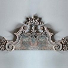 French style door pediment