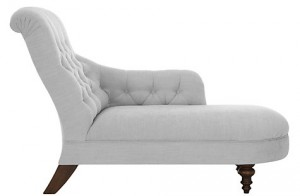 French style chaise longue