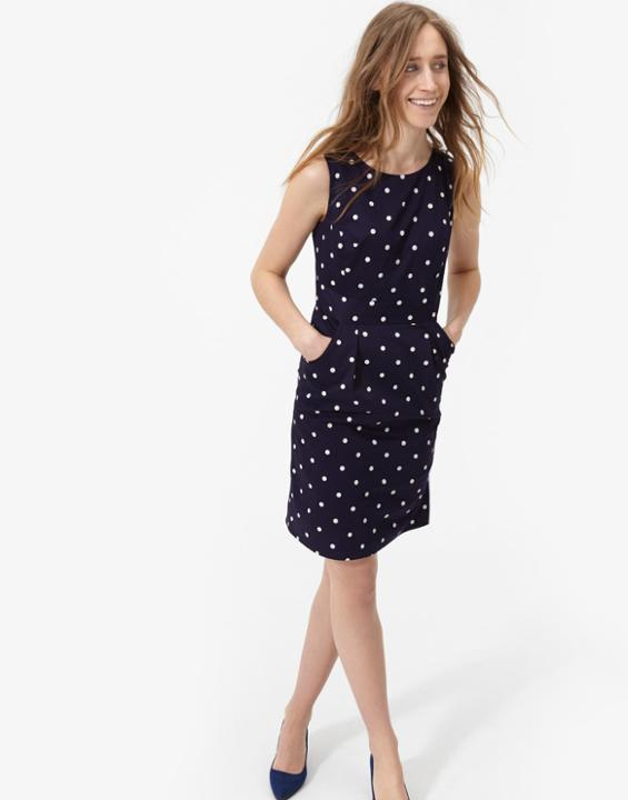 French Navy Summer Dress