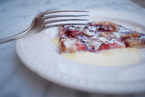 Recipe fro French tarte aux Peches