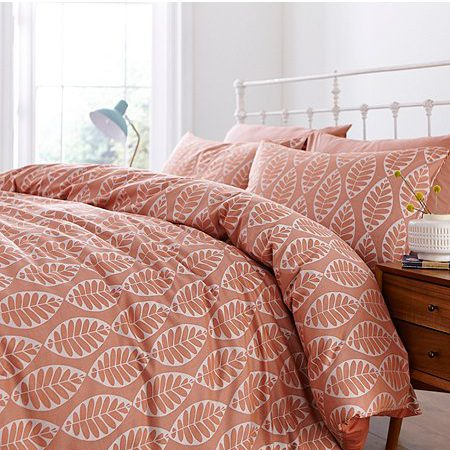 Autumn Leaf Print Duvet Set