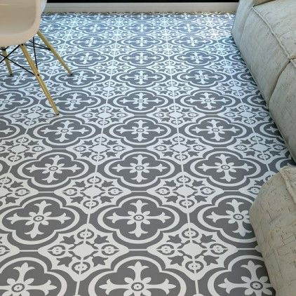 Why Moroccan Tile Print Vinyl Flooring Is SO Right Love French Style Stunning Patterned Vinyl Flooring Vintage