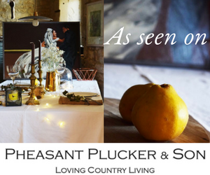 Pheasant Plucker and Son Luxury British Stationery