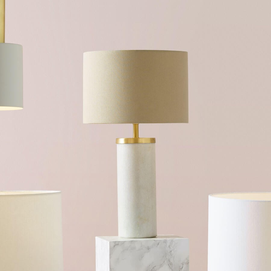 Marble Lamp Bases