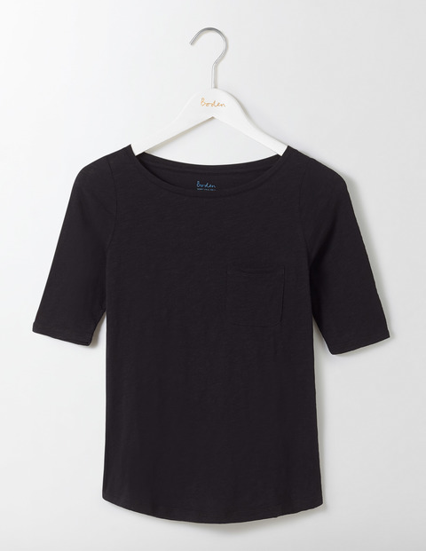 Stylish Boatneck T Shirt