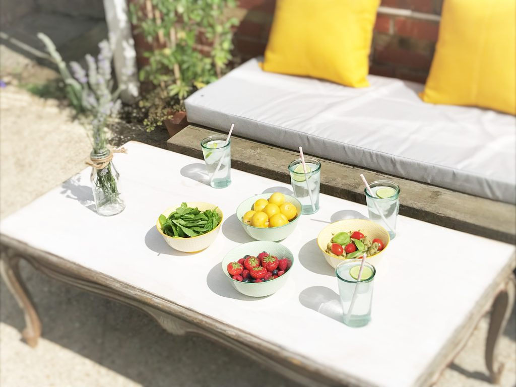 Mojitos Or Iced Water With A Slice These Vintage Inspired Glass Tumblers Bring Bespoke Charm To Your Alfresco Party 599 For Four From TK Maxx Home
