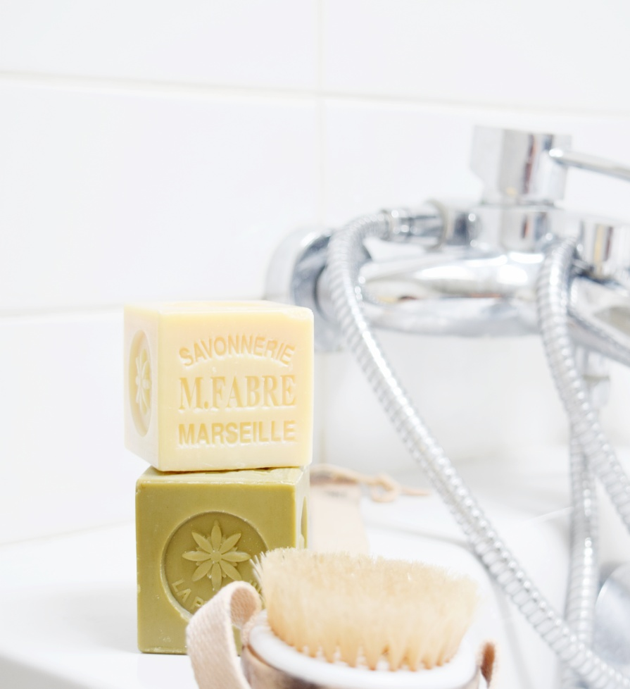 Authentic Marseille soap cubes