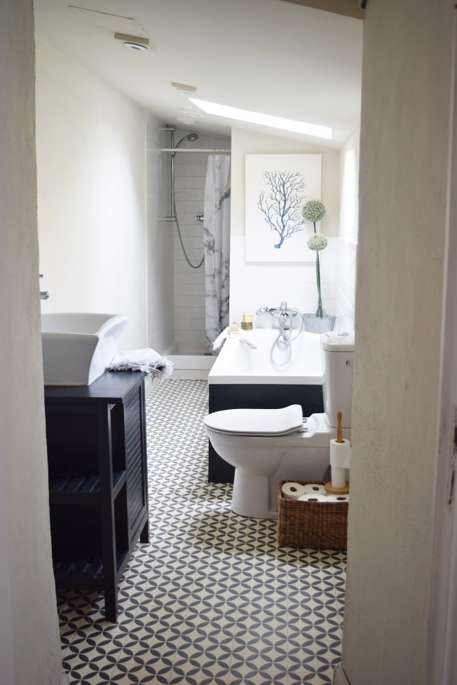 Small French bathroom renovation