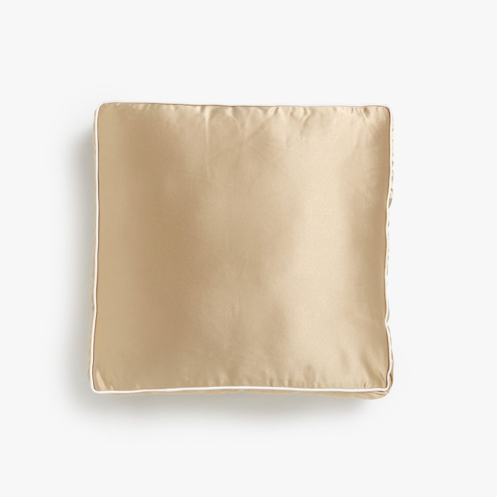 Gold Satin Cushions Zara Home