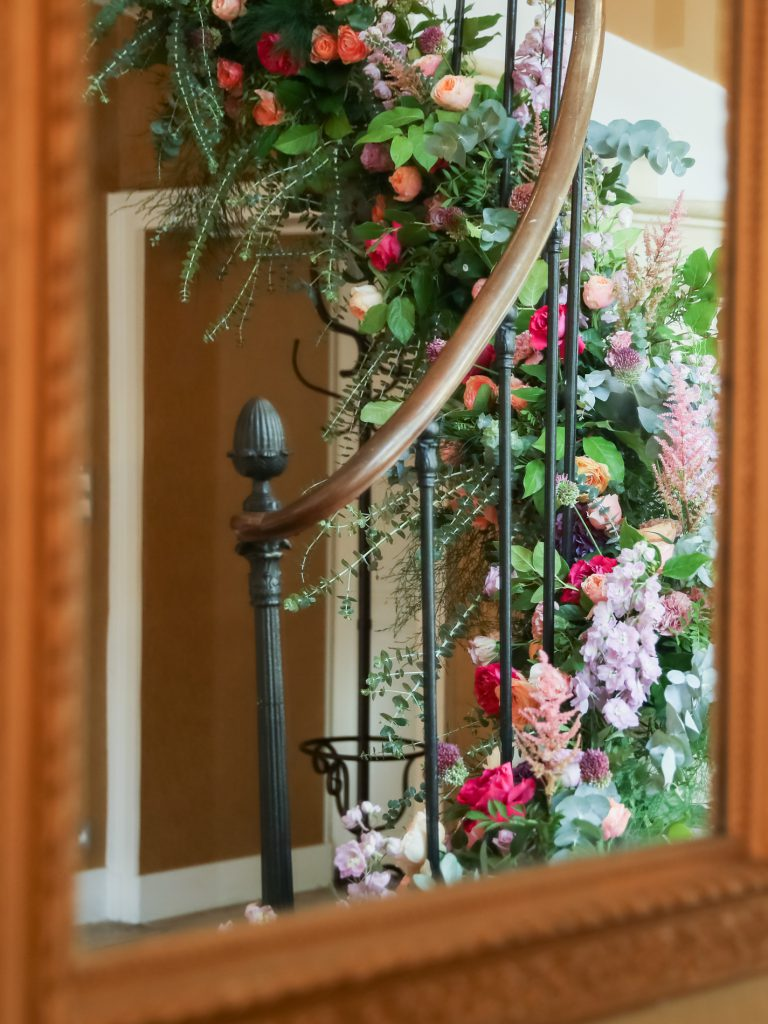 English speaking florist weddings in france