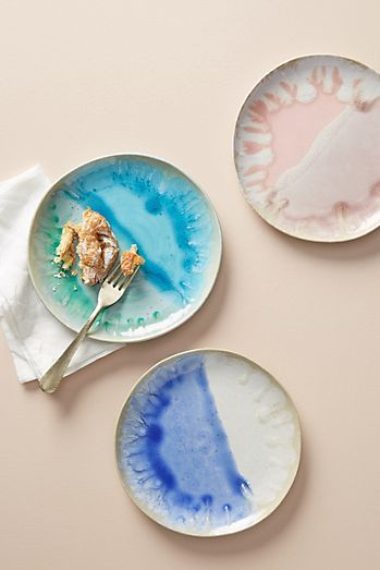 Geo style plates Anthropologie