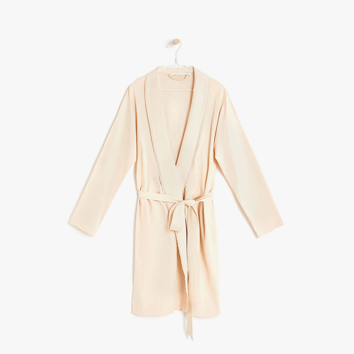 cotton spring dressing gown